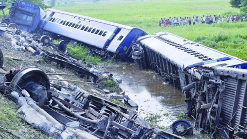 مقتل 35 في حادث قطار بالهند