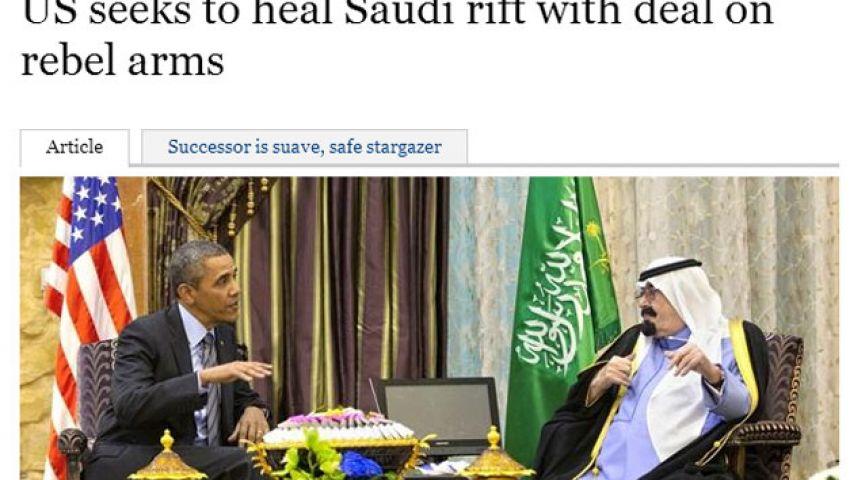 تايمز: أوباما يتودد إلى الرياض عبر ثوار سوريا