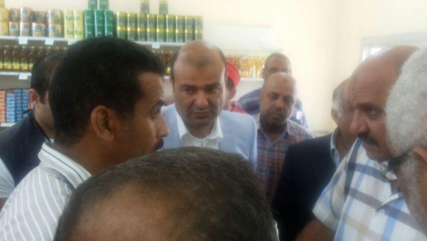 بالصور| وزير التموين يفتتح مجمعين استهلاكيين بالأسكندرية