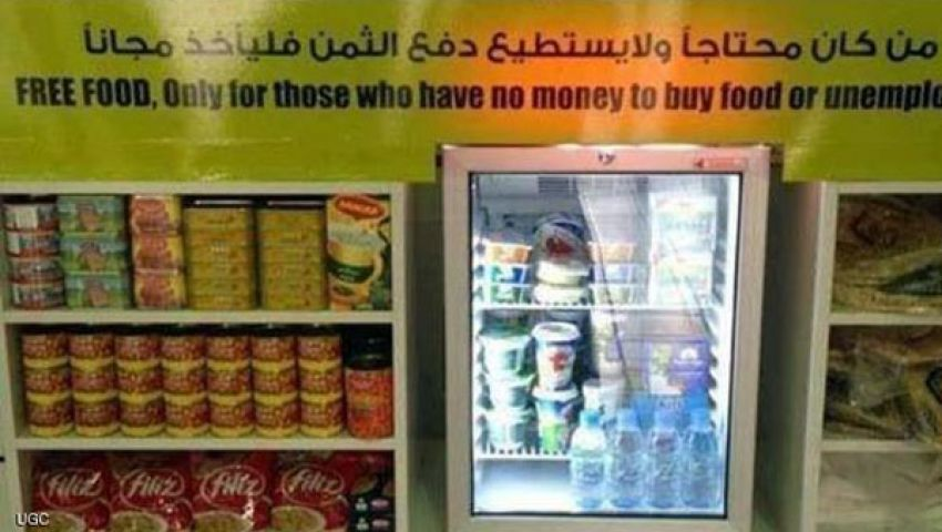 دبي.. من لا يملك الثمن يأخذ مجانا