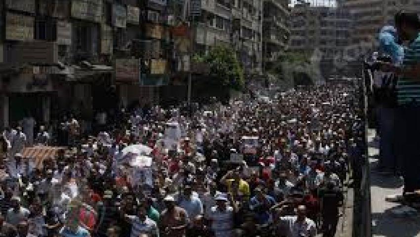 مسيرات لمؤيدي مرسي تطالب بوقف الاعتقالات