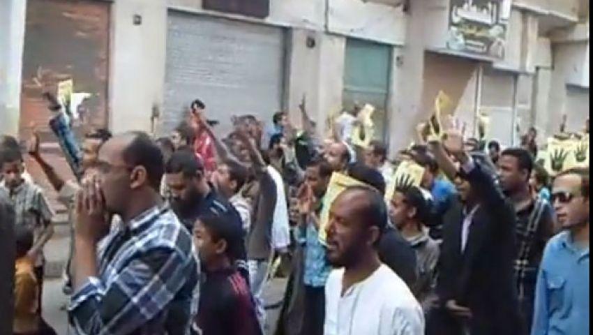 فيديو. مسيرة رافضي الانقلاب بقنا تندد بحكم العسكر