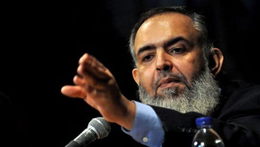 أبو إسماعيل: تصريحات السيسي مقدمة لانقلاب