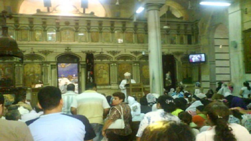 مولد مارجرجس بالدقهلية.. مسلمون يزاحمون المسيحيين لأخذ البركة