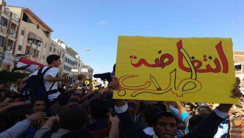 لليوم الثاني.. احتجاج طلاب هندسة دمياط ضد الإدارة
