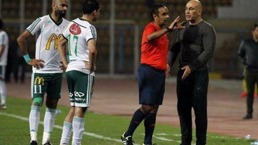 المصري ينتهي من تسديد غرامة المدرب العام