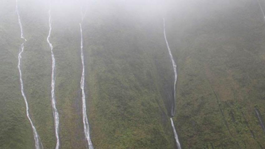 بالصور.. الجبال الباكية في هاواي تسحر السياح