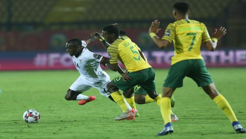 جنوب أفريقيا تتأهل لمواجهة الفراعنة في نصف نهائي كأس الأمم