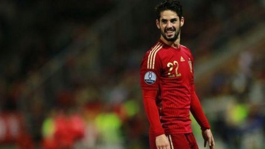 مدرب إسبانيا يكشف سبب ضم إيسكو رغم عدم مشاركته مع الريال
