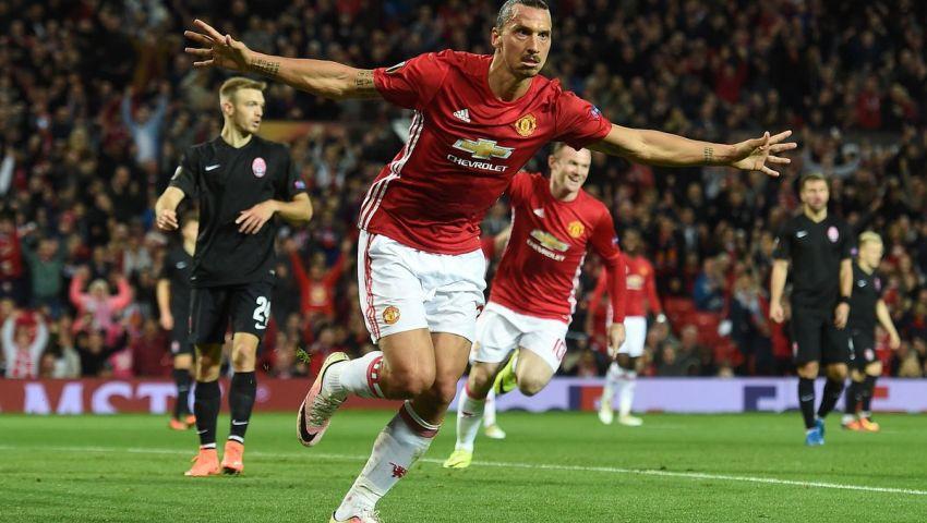 فيديو.. إبراهيموفيتش يسجل الهدف الأول لمانشستر يونايتد