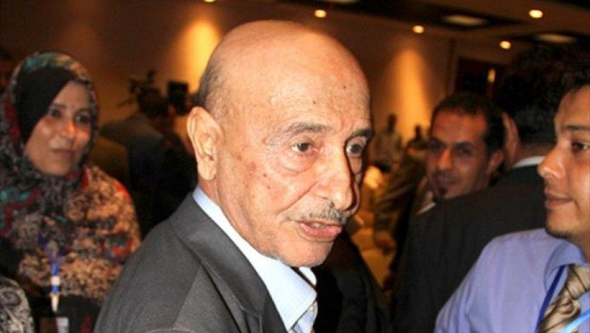 رئيس البرلمان الليبي يصل القاهرة للقاء السيسي