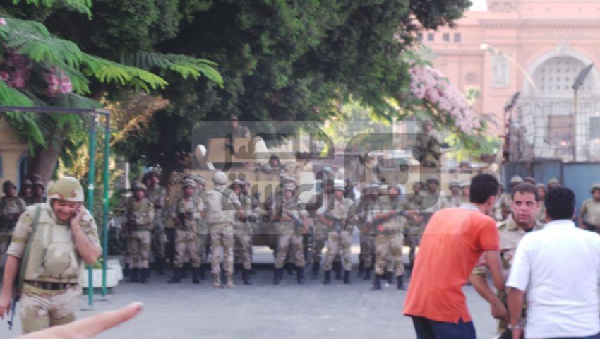 اشتباكات بين مؤيدي مرسي والشرطة في التحرير