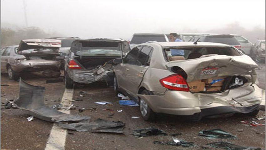إصابة 7 سوريين في حادث سير بالبحيرة