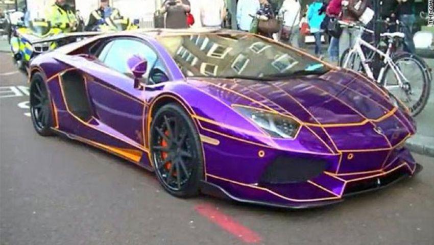 سيارة لأمير قطري تذهل الصحافة بلندن