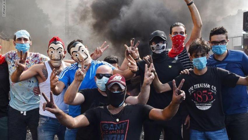 احتجاجات لبنان.. نصر الله يتوعد ومتظاهرون يكسرون المحرمات