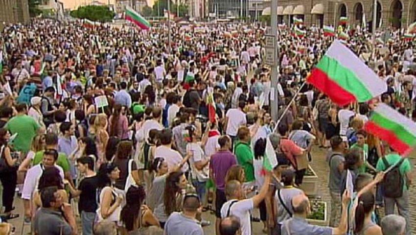مظاهرات بلغاريا تدخل يومها الأربعين