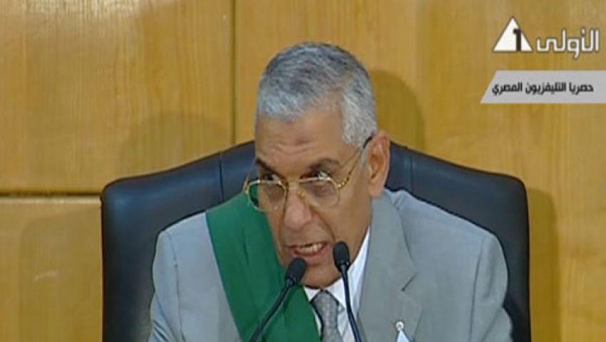بالفيديو.. قاضي مبارك يفض أحرازًا جديدة في محاكمة القرن
