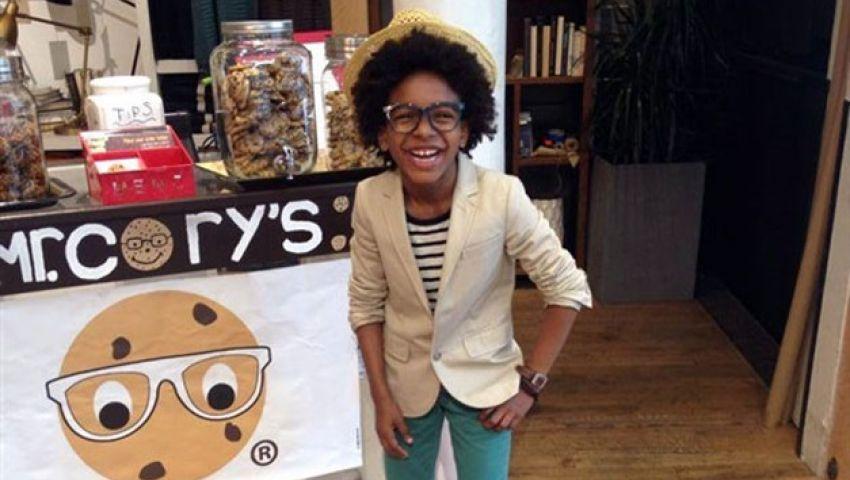 فيديو .. طفل 10 سنوات يصبح أصغر رجل أعمال بالعالم