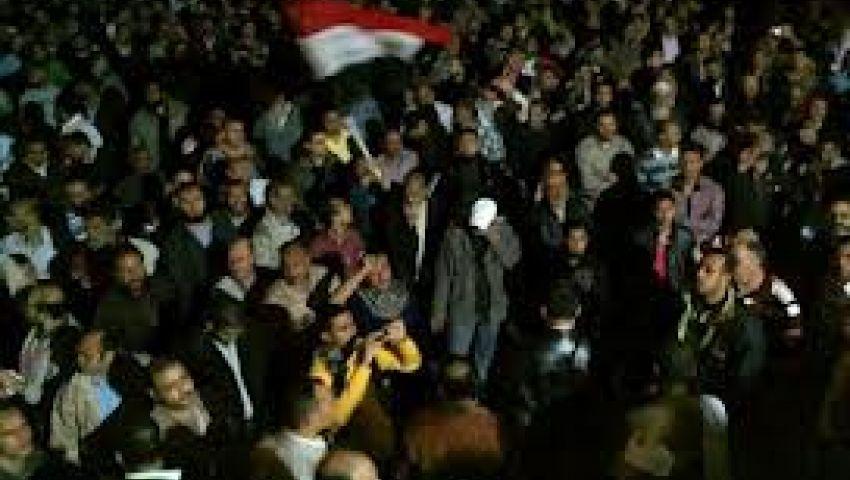 مسيرة ليلية لأنصار مرسي بالإسكندرية