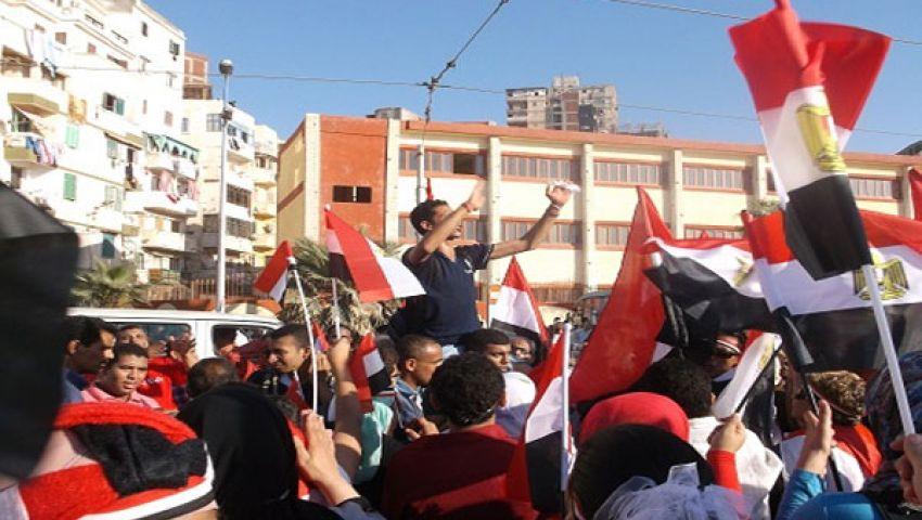 سبع مسيرات لسحب الثقة من مرسي بالإسكندرية