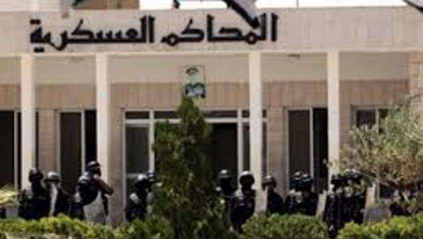 العسكرية تؤجل محاكمة 146 متهمًا باقتحام قسم شرطة أبوقرقاص