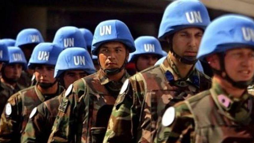 قوات حفظ السلام تغادر القاهرة