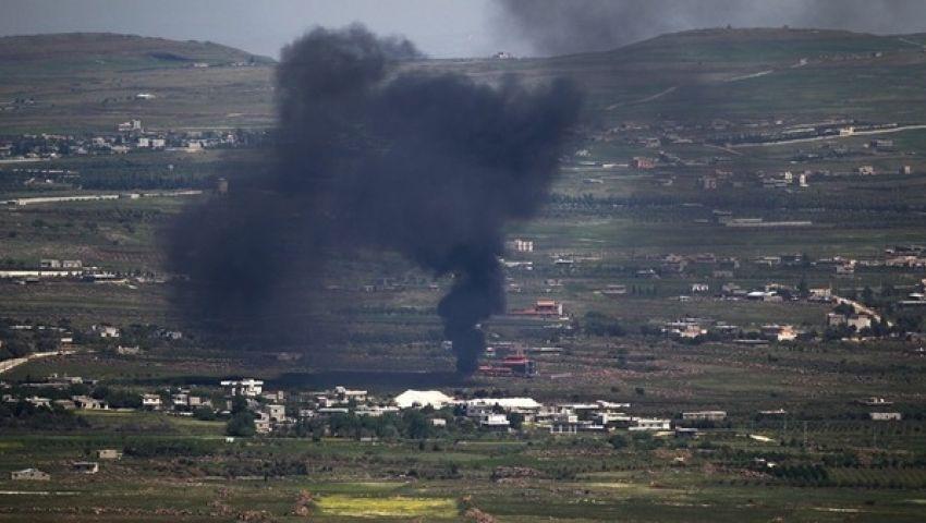 سقوط قذيفتين على الجولان المحتلة قادمتين من سوريا