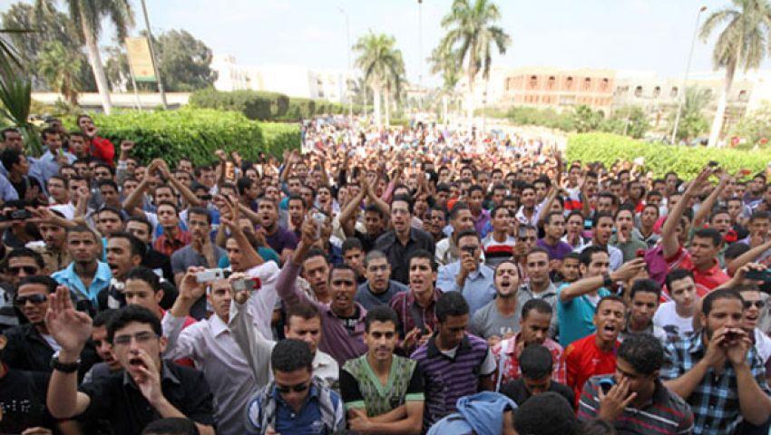 فيديو.. الهدهد ينفي اقتحام الأمن لجامعة الأزهر