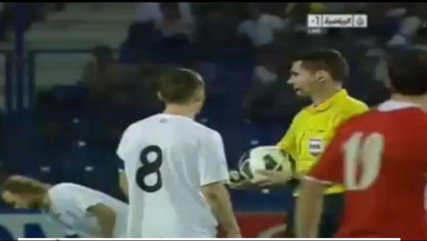 استئناف مباراة الأردن وأوزبكستان