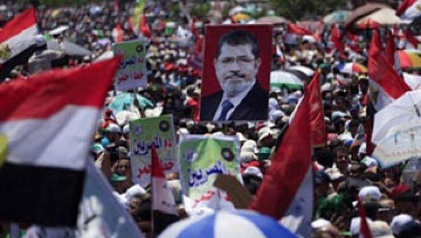 في الشرقية مظاهرات دعمًا للشرعية وأخرى تأييدًا للجيش