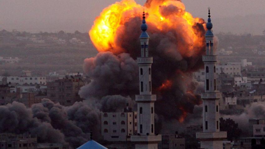 استشهاد امرأة حامل وطفلة في قصف إسرائيلي لغزة
