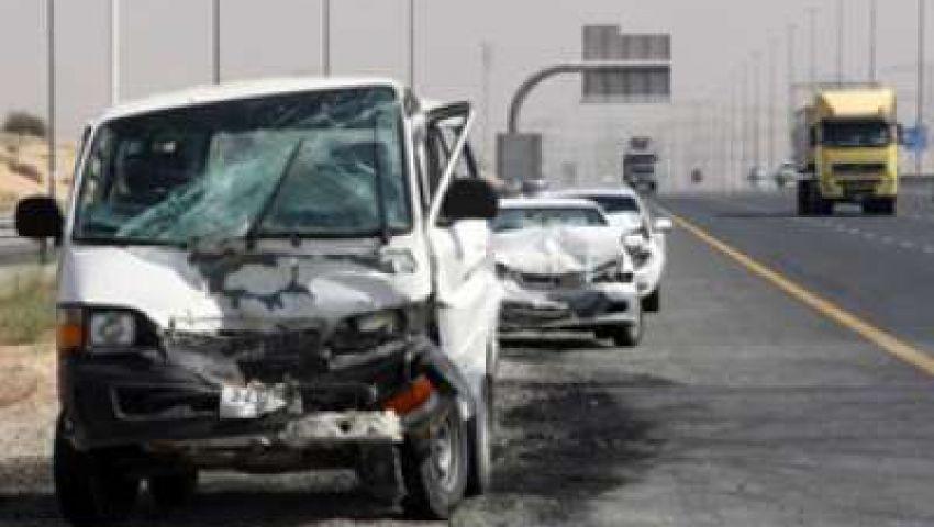 إصابة وكيل نيابة شرق الإسكندرية وزوجته ونجله في حادث