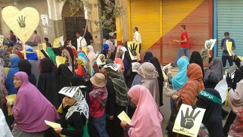 فيديو .. مسيرة بـ سوهاج: يسقط يسقط سيسي مبارك