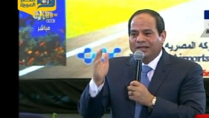 فيديو..السيسي يستشهد بحادث باكستان على قوة المصريين
