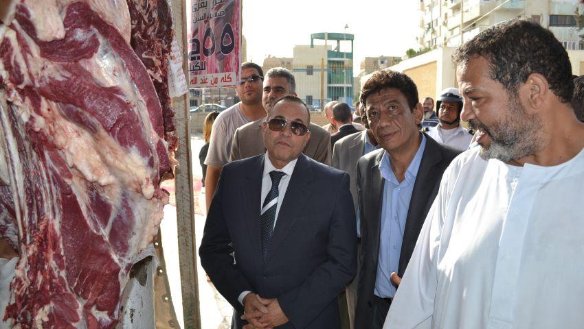 بـ55 جنيهًا للكيلو.. افتتاح شوادر بيع اللحوم البلدية بالإسماعيلية
