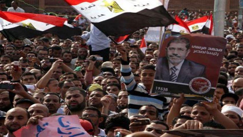 المئات من أنصار مرسي يحتشدون بالإسكندرية