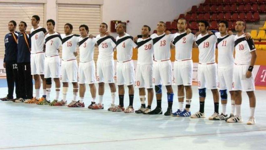 يد مصر فى نصف نهائى دورة المتوسط
