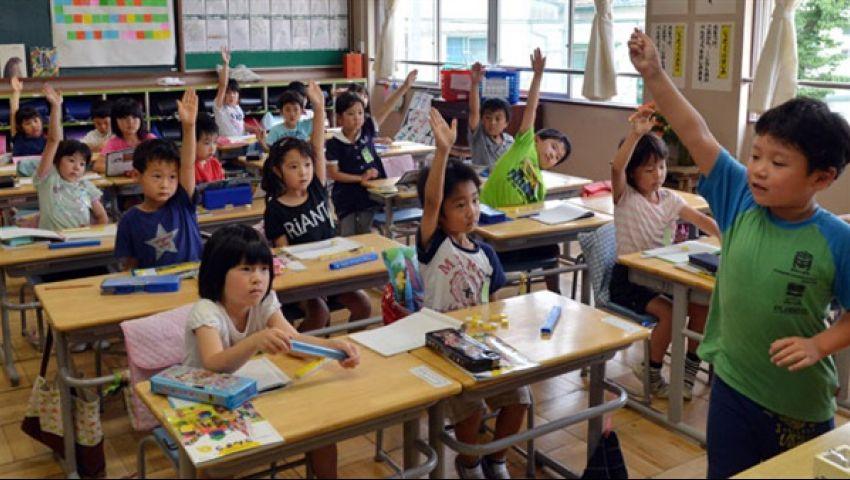 بالفيديو.. معلومات لا تعرفها عن التعليم في المدارس اليابانية