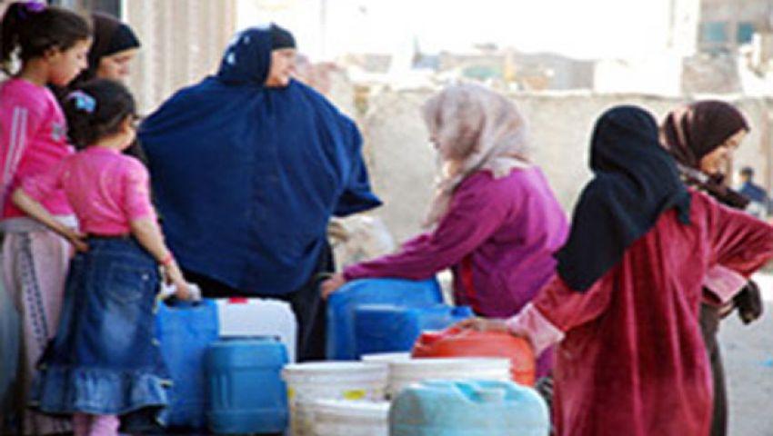 65 ألف مواطن يعيشون بدون مياه منذ 5 أيام بالمنوفية