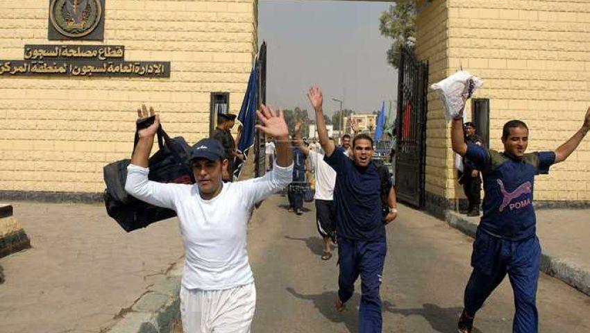542 نزيلا يودعون السجون بعفو رئاسي وشرطي