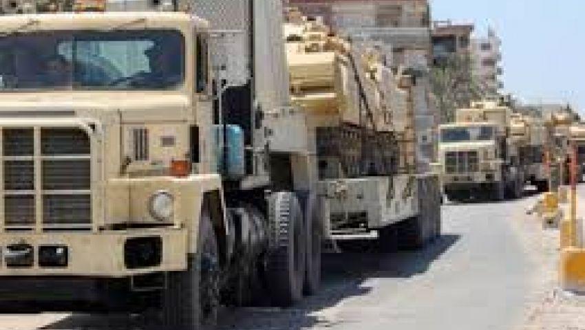 الجيش المصري ينتشر على الحدود مع غزة