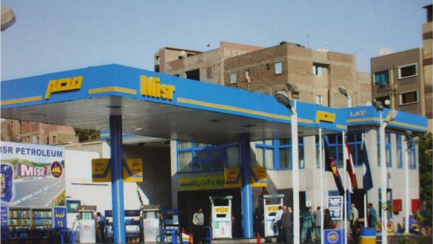 محطة تبيع البنزين المدعم بدون ترخيص