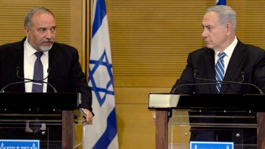 نتنياهو يتهم ليبرمان بالتنسيق مع جانتس والأحزاب العربية لتشكيل حكومة يسار