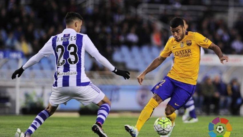 فيديو.. سوسيداد يتقدم على برشلونة بهدف في الشوط الأول