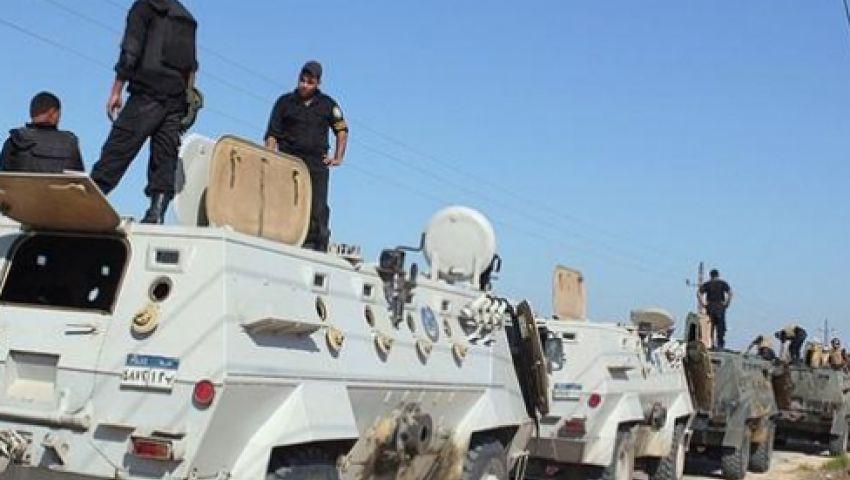 تدمير7 منازل لقيادات مسلحة بسيناء