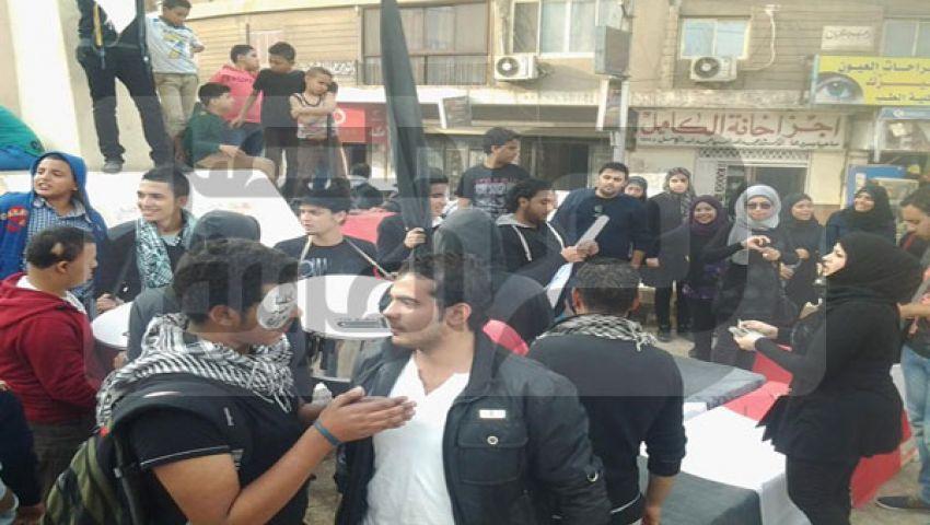 تمرد بنها تقيم جنازة رمزية لإحياء ذكرى محمد محمود