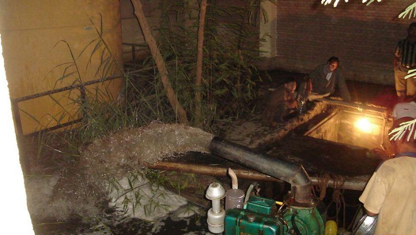 كسر بالمحطة الرئيسية يحرم الفيوم من مياه الشرب