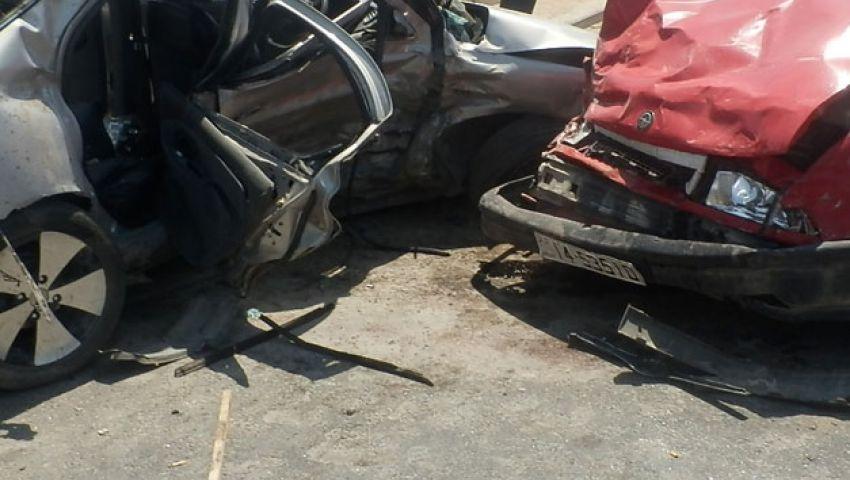 إصابة 26 عاملاً في حادث سير جنوب العريش
