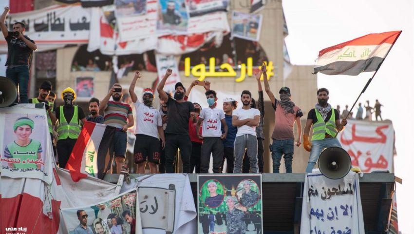 العراق على صفيح ساخن.. المتظاهرون يستعدون لـ«مليونية الصمود» والشرطة تحتشد