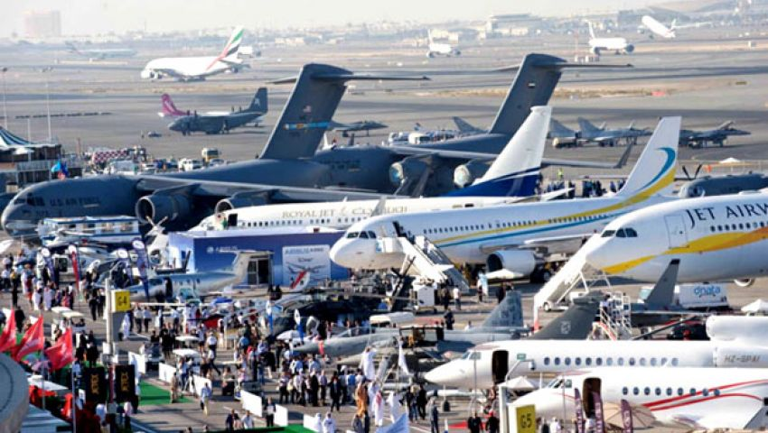 مصر تشارك بدون صفقات في معرض دبي للطيران